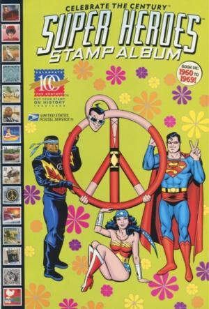 CELEBRATE THE CENTURY: SUPER HEROES STAMP ALBUM  1960-1969
