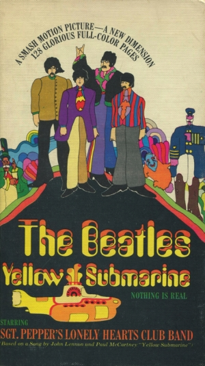 THE BEATLES YELLOW SUBMARINE (HARD COVER)