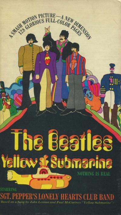 THE BEATLES YELLOW SUBMARINE (HARD COVER)