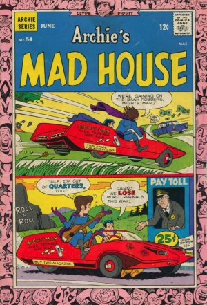 ARCHIE'S MAD HOUSE #54