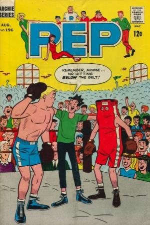 PEP COMIC #196
