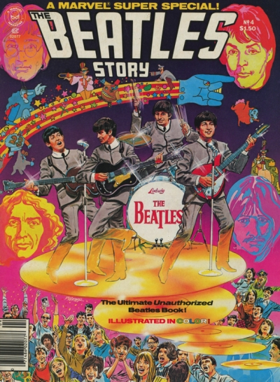 THE BEATLES MARVEL STORY #4 - MARVEL SUPER SPECIAL