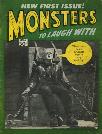 MONSTER TO LAUGH WITH #1