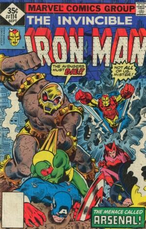 THE INVINCIBLE IRON MAN #114