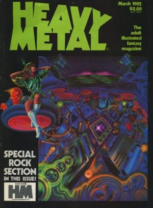 HEAVY METAL VOL VI #12 (1982)