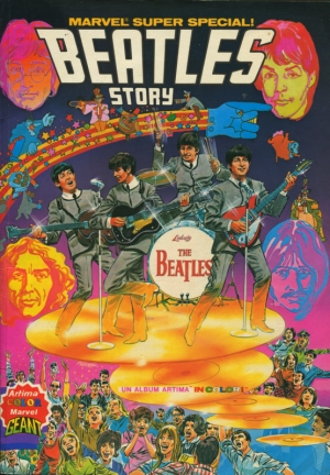 THE BEATLES MARVEL STORY - MARVEL SUPER SPECIAL (FRANCIA)