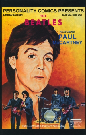 PERSONALITY COMICS: THE BEATLES PAUL MCCARTNEY LIMITED EDITION BOX