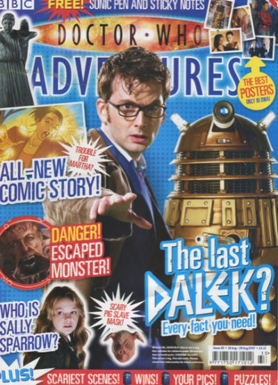 DOCTOR WHO ADVENTURES #36