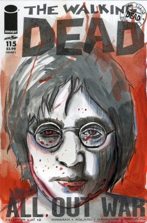 THE WALKING DEAD #115 (FAKE COVER)