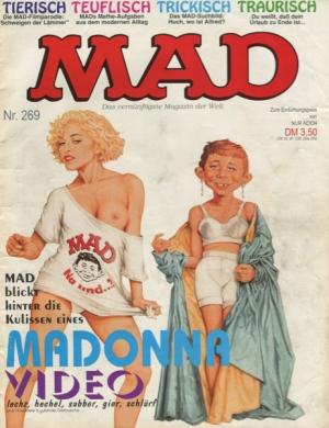 MAD (MAGAZINE) #269 (GERMANIA)