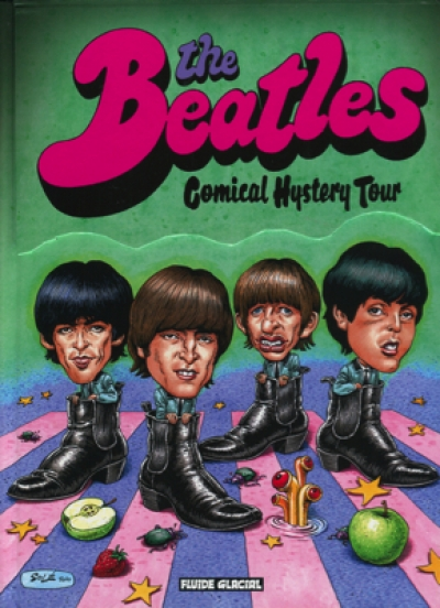 THE BEATLES COMICAL HISTERY TOUR